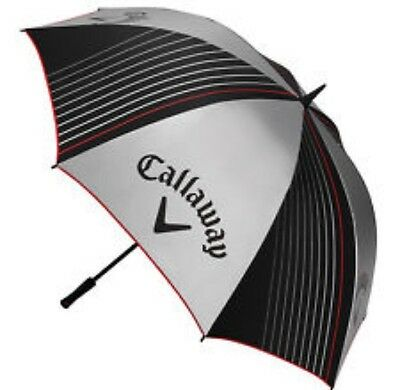 Callaway Golf Umbrella Silver/Black With Red Trim