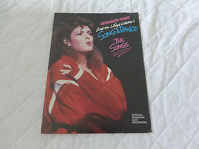 "Bernadette Peters - 1985 RCA Records USA Press Kit For ""Song & Dance"""