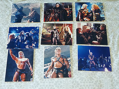 """Masters of the Universe"" 9 x Mounted Publicity Stills 1987"