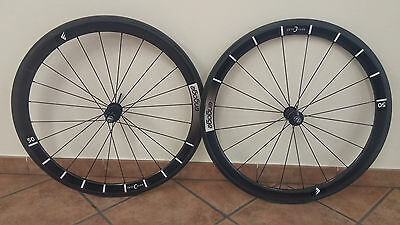 Ax Lightness Engage Sphere 50c Carbon Clincher copertoncino 11s Campagnolo