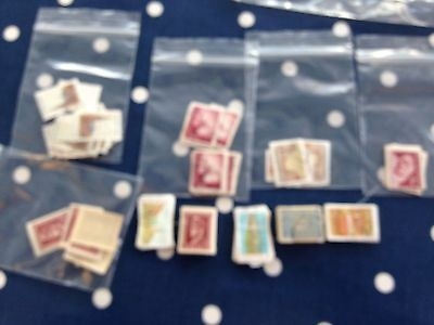 Croatia Hrvatska stamps in bundles approx 375 for packet maker tidy lot