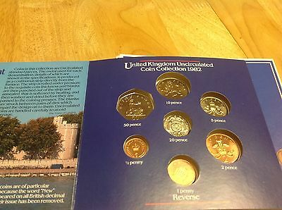 United Kingdom Coin Collection 1982