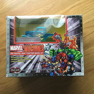 Marvel Machines Spider-Man's Exterminator Model New And Sealed