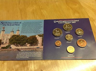 United Kingdom Coin Collection 1983