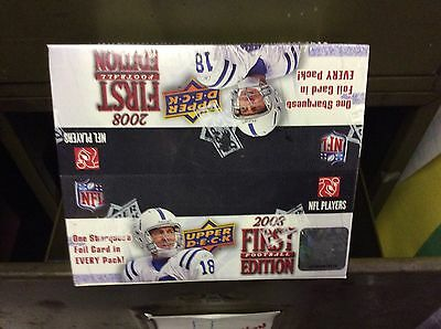 2008 Upper Deck First Edition NFL Unopened Box