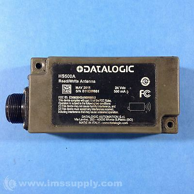 Datalogic HS500A Escort Memory Systems Read/Write Antenna USIP