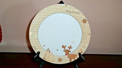 3 Arzberg Germany Tric Sieger Design Cool Xmas Beige,Gold & tan Plates #718
