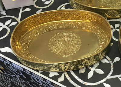 NEW Brass Tray/ platter - Large