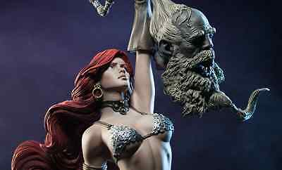 Unpainted Red sonja 1/4 scale , resin model kit, exclusive