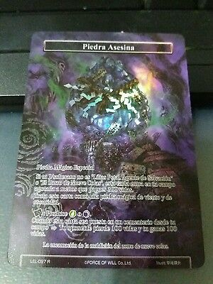 textured foil piedra asesina force of will - Killing stone