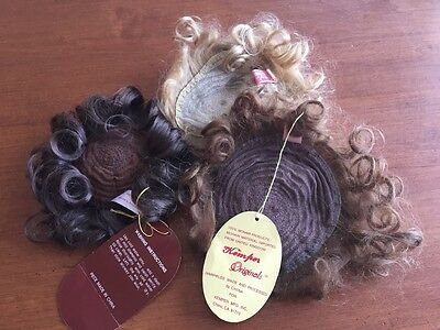 Lot of Reborn Doll Mohair Wigs