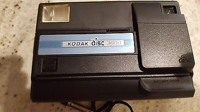 VINTAGE 1980s KODAK DISC 3600 CAMERA AND  DISC FILM