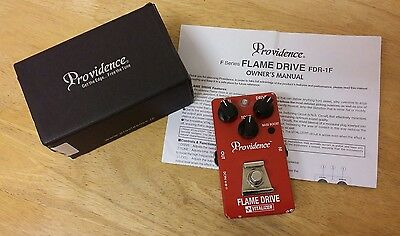 PROVIDENCE - FLAME DRIVE FDR-1F Overdrive/Distortion - Tube Screamer - TS808 -