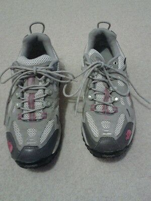 North Face grey trainer shoes size 5
