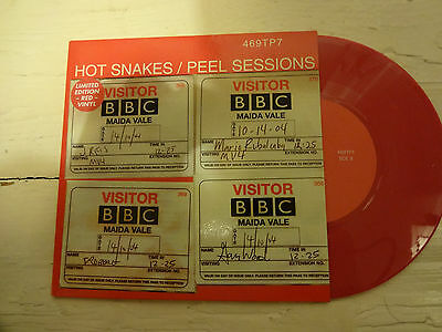 """Hot Snakes - Peel Sessions - Limited Pink 7"""" Vinyl"""