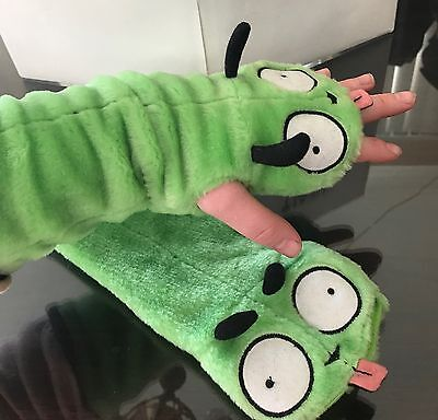 LICENSED INVADER ZIM/GIR DOG SUIT Plush Gloves/Hand Warmers-RARE! New w/o Tag
