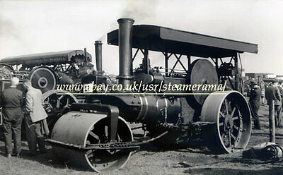 Aveling & Porter 11145 Steam Roller, Steam Traction Engine Photograph 2