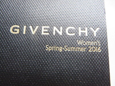 Givenchy Fashion Look Book Riccardo Tisci Rare Collectable Fashion + Accessories