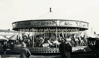 Savage 903 Gallopers, Steam Traction Engine Photograph