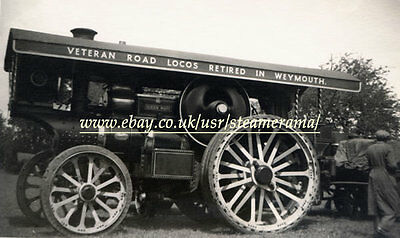 Fowler 15319 Showmans Engine, Steam Traction Engine Photograph