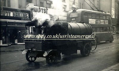 Yorkshire 1511 Steam Lorry, Steam Traction Engine Photograph