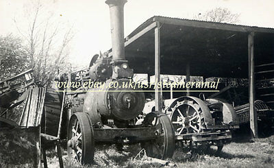 Ransomes Sims Jefferies 12044 Traction Engine, Steam Traction Engine Photograph