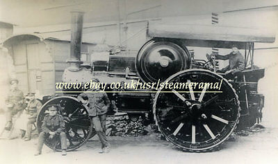 Fowler Road Locomotive, Steam Traction Engine Photograph