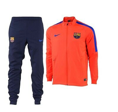 Nike Barcelona Squad Woven Tracksuit 2016-2017 - S - New With Tags ~ 808949 671