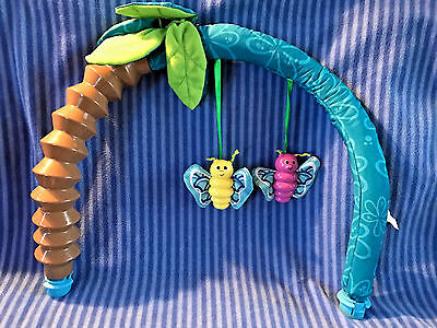 Evenflo Life in the Amazon Exersaucer Soft Toy Arch Replacement Part
