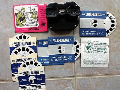 8th. World Boy Scout Jamboree View-Master & Pictures