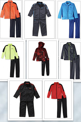 Under Armour Little Boys' Full Zip Jacket and Pant Set SIZES 2T-7