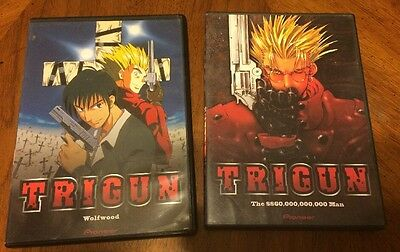 Trigun: Wolfwood & The $60,000,000,000 Man DVD Lot Of 2