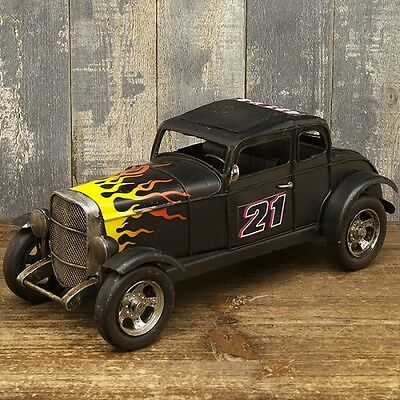 model vintage tin plate Fire racing car free shipping!1404E-4202