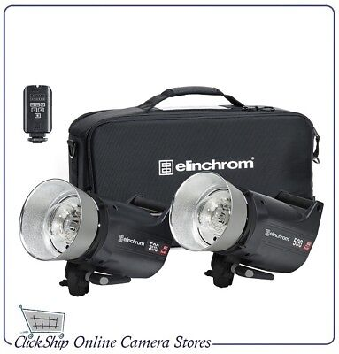 Elinchrom ELC Pro HD 500 To Go Set with EL-Skyport Transmitter Plus # EL 20677.2