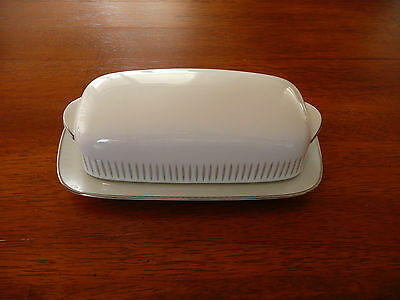 Noritake China Japan Butter Dish with Lid