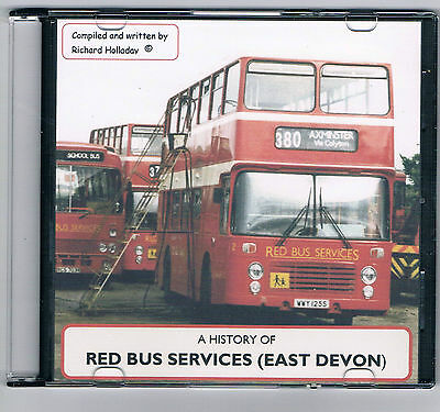 Red Bus Services (East  Devon) A History of