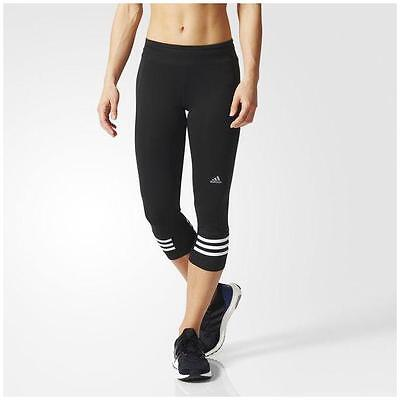 New ADIDAS WOMEN's Response Three-Quarter leggings/capris/yoga/run/gym/3/4 pants