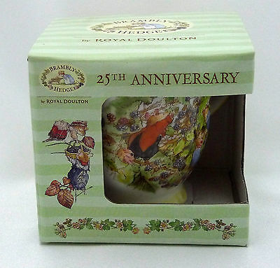 Royal Doulton  Brambly Hedge  25th Anniversary Lord Woodmouse  Mug / Beaker
