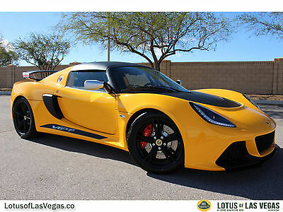 2016 Lotus Exige V6 Cup 2016 Lotus Exige V6 Cup - Factory A/C! Passenger Seat! Roll-cage! Fire Supress~!