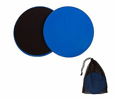 Trademark Innovations Sliders-2X Core Exercise Sliding Discs Dual Sided Set o...