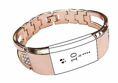 Replacement Bands for Fitbit Charge 2 Exclusive Diamond Wristband Metal Brace...