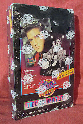 ELVIS PRESLEY The Cards Of His Life Sealed Box 1992 Series2 Elvis Portraits cltn