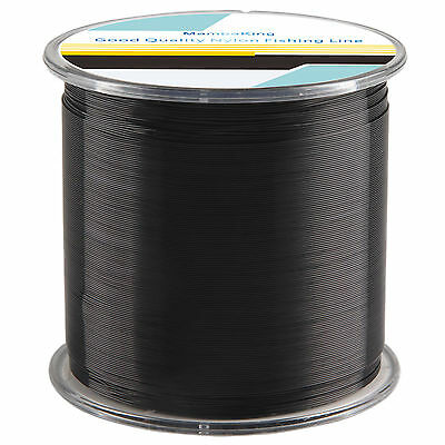 Black 500M Monofilament Fishing Line Nylon Mono Line Durable Sea Lake Fishing