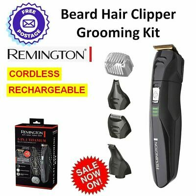 Men's Body Hair Clipper Groomer Trimmer CORDLESS Professional Shaver Cutter