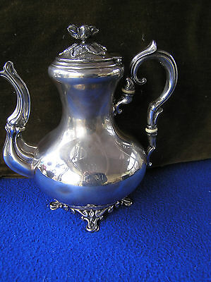 French sterling silver figural teapot / coffe pot 311g