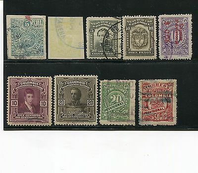 Colombia 1903-20 Coat of Arms Lozano Used SCV $61