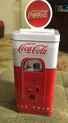 Disney Parks Coca-Cola Bank Very Cool Coke Collector's