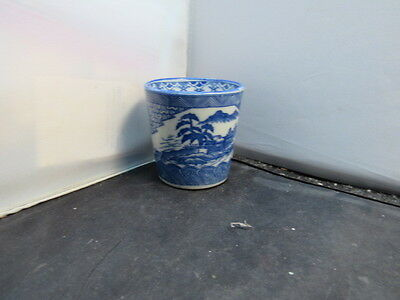 antique JAPANESE SOBA Old Imari-ware CUP Sobachoko