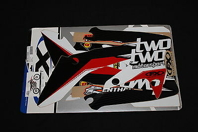 Honda Crf 250R 2004-2009 Two Two Fx Mx Graphics Decals Kit Stickers