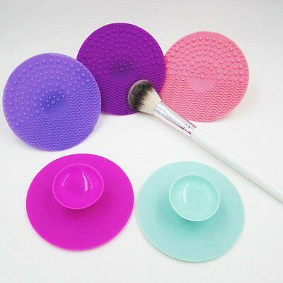 Silicone Makeup Brush Cleaners Washing Scrubber Board Cosmetic Cleaning Mat Pad